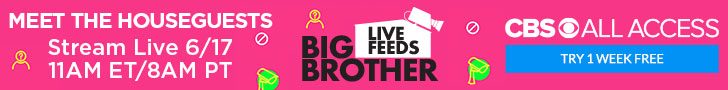Subscribe to the Big Brother Live Feeds